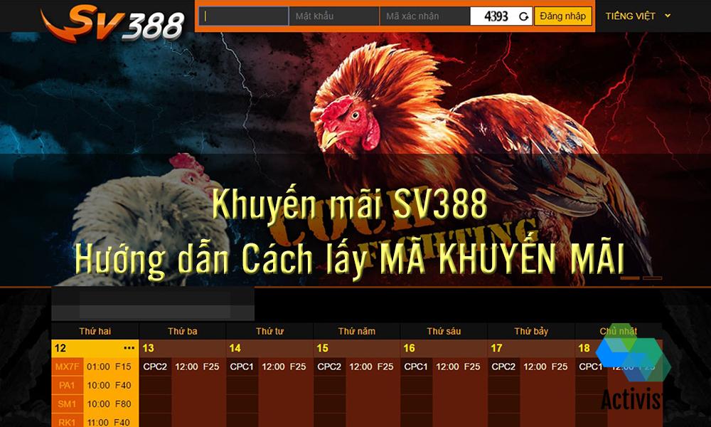 Khuyến mãi SV388 có gì