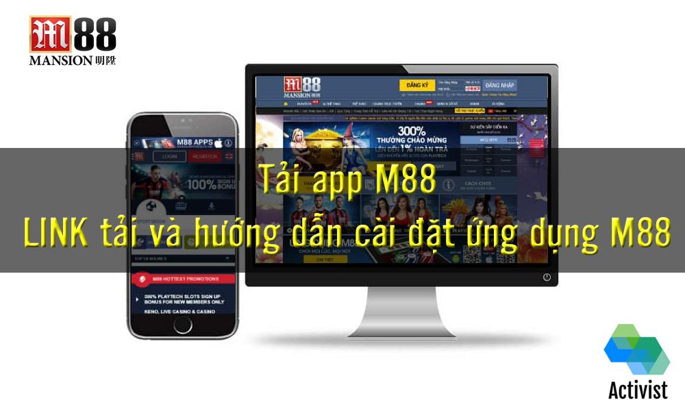 Link tải app M88