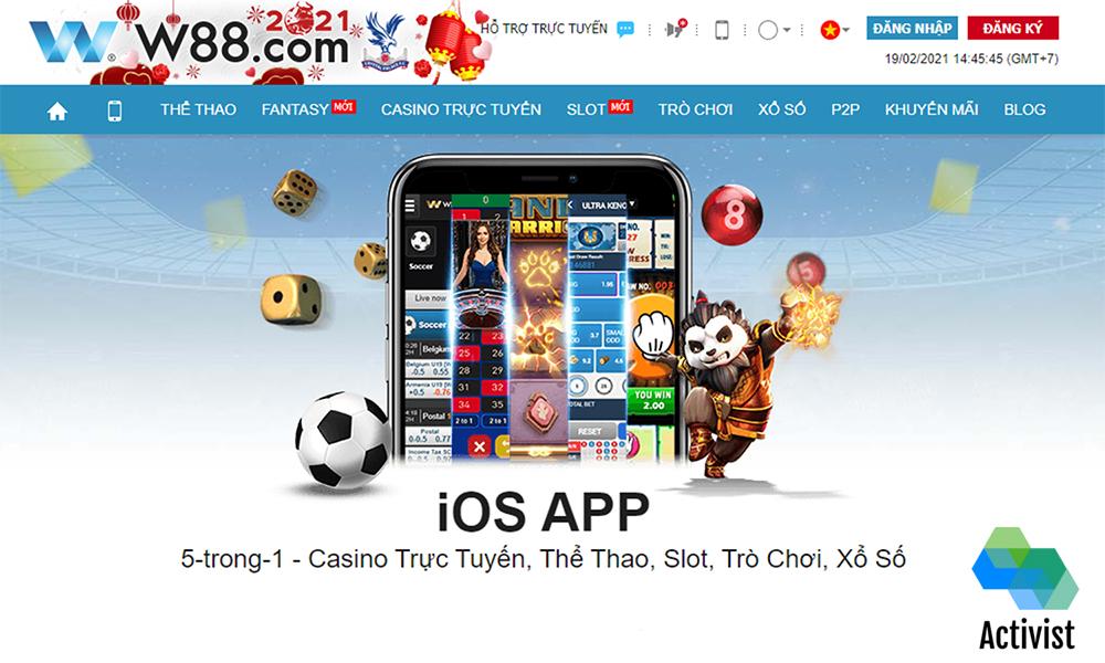 Tải App W88 cho iOS