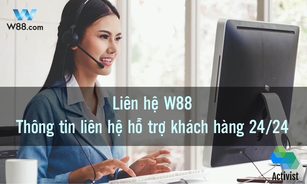 Thông tin liên hệ W88
